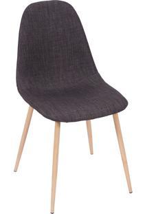 Cadeira 1112-Or Design - Grafite / Madeira