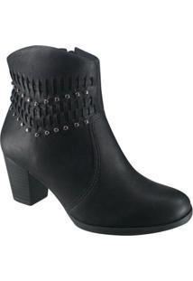 Bota Feminina Ankle Boot Dakota
