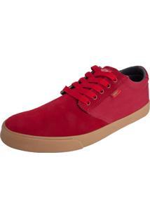 Tênis Coca Cola Shoes Flame Vermelho
