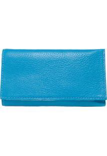 Carteira Fiveblu Textura Azul