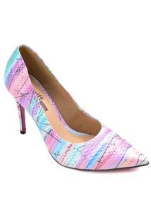 Sapato Scarpin Zariff Mesclado