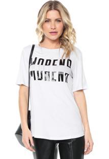 Camiseta Morena Rosa Lettering Branca