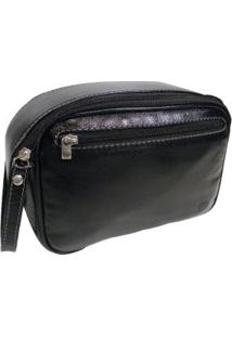 Necessaire Masculina Em Couro Wilson 822 Psf