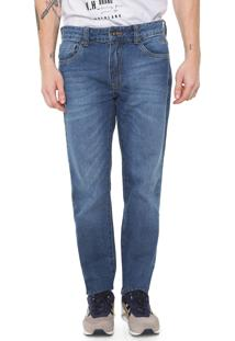 Calça Jeans Timberland Reta Dark Azul