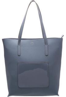 Bolsa Sacola- Azul- 35X31X13Cmarezzo & Co.