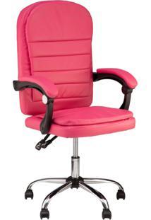 Cadeira Escritã³Rio Prisma Diretor - Rosa - Feminino - Dafiti