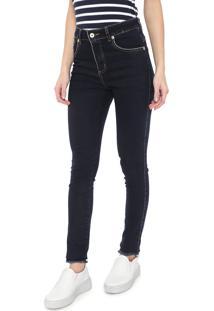 Calça Jeans Aleatory Skinny Básica Azul