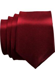 Gravata Unyforme Slim Vermelha