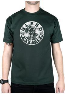 Camiseta Bleed American Prayer Musgo