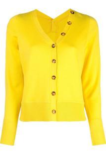 Proenza Schouler Cardigan De Lã Merino - Amarelo
