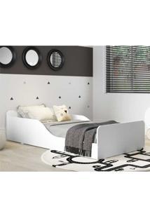 Cama Montessoriana Multimóveis 100% Mdf Para Colchão 150X70Cm Branca