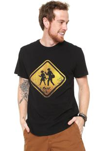Camiseta Reserva Rock Preta