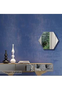 Painel Decorativo- Espelhado & Off White- 30X34,5X3Cdalla Costa