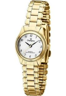 Relógio Champion Analógico Feminino - Feminino-Dourado