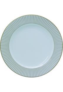 Conjunto De Pratos Para Sobremesa Porcelana Schmidt 06 Peças - Dec. Vera