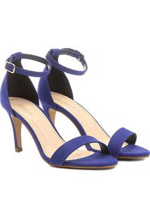 7180b1c11 Sandália Azul Shoestock feminina