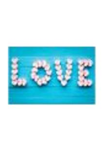 Painel Adesivo De Parede - Love - Amor - 885Png