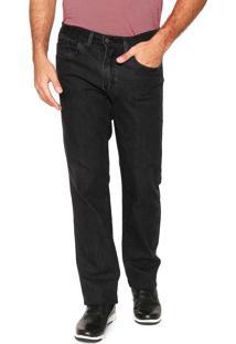 Calça Jeans Aleatory Slim Preta