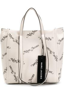 Marc Jacobs Bolsa Tote X New York Magazine The Tag - Branco