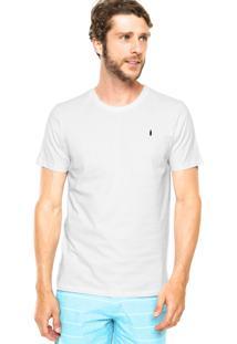 Camiseta Coca-Cola Jeans Estampa Textura Branca