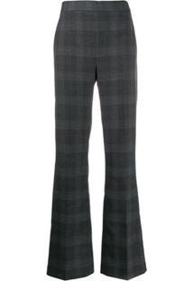 Essentiel Antwerp Calça Pantalona Xadrez - Cinza