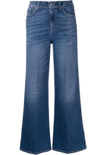 7 For All Mankind Calça Jeans Lotta Vintage Sycamore - Azul