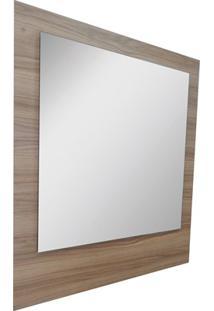 Espelho De Parede Em Mdf Vitória 98X82Cm Champagne