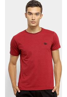 Camiseta Polo Rg 518 Mesclada Masculina - Masculino-Vinho