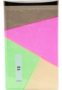 Nana-Nana Clutch Color Block - Rosa