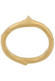Shaun Leane Anel 'Rose Thorn' Em Ouro Amarelo E Prata - Metálico
