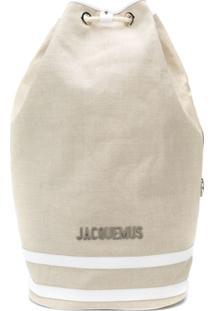 Jacquemus Mochila Oversized - Neutro