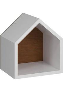 Prateleira Casinha - Nozes - Tommy Design