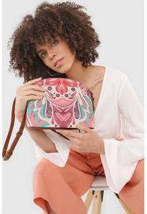 Bolsa Transversal Across Body Bag Multiv Rosa - Rosa - Feminino - Dafiti