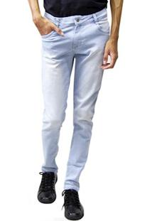 Calça Jeans Masculina Sandro Clothing Azul Claro