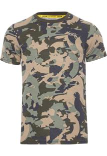 Camiseta Masculina Sleeve - Verde