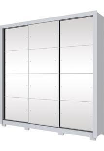 Guarda-Roupa Trentino 03 Portas Deslizantes Henn - Branco Hp