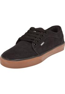 Tênis Ride Skateboard Curb W. Preto