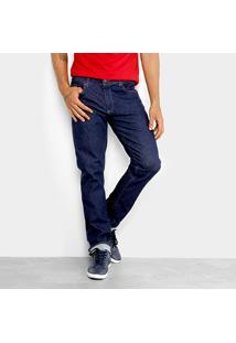Calça Jeans Slim Lacoste Fit Masculina - Masculino-Jeans