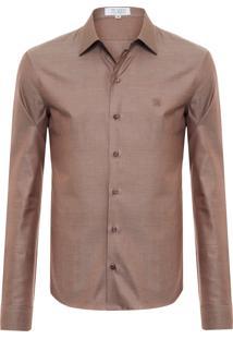 Camisa Masculina Brant 2 Cc - Marrom
