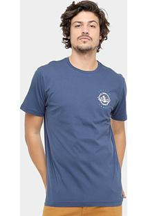 Camiseta Volcom Silk Slim Bite Me Masculina - Masculino