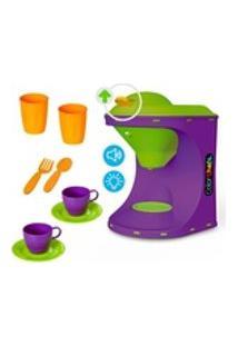 Color Chefs Kit Cafeteira Com Som, Luz, Acessórios E App Game - Brinquedo Miniaturizado Da Usual Brinquedos - Ref. 418