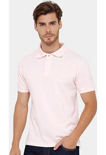 Camisa Polo Blue Bay Piquet Lisa Color Masculina - Masculino