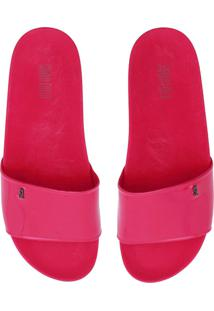 Chinelo Slide Santa Lolla Logo Pink