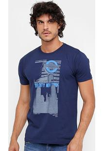 Camiseta Eagle Brasil The City Ny Masculina - Masculino