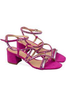 Sandália Saltare Monique Feminina - Feminino-Pink