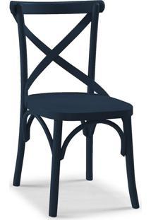 Cadeira De Jantar X Azul Marinho