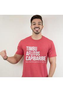 Camiseta Zé Carretilha - Nau-Timbu Masculina - Masculino
