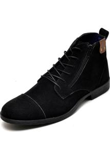 Bota Eco Canyon Broklin Suede Preto