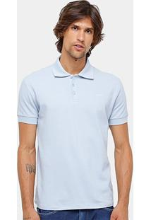 Camisa Polo Colcci Piquet Básica Elastano Masculina - Masculino