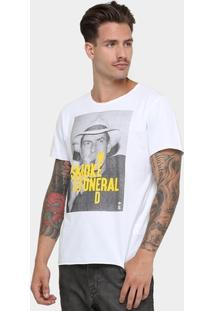Camiseta Sérgio K. Gola Careca Smoke - Masculino